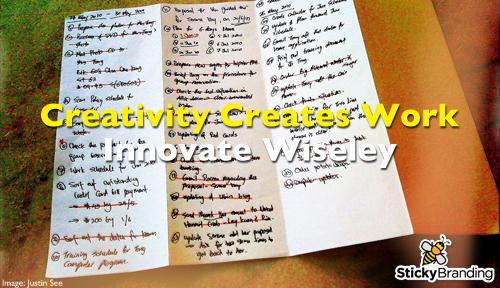 Creativity Creates Work